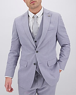 Lilac Harry Regular Fit Suit Jacket