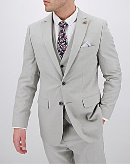 Grey Harry Regular Fit Suit Jacket