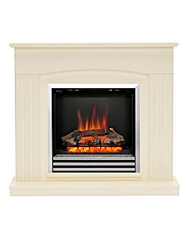 Be Modern Linmere Timber Electric Fire Suite