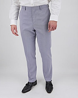 Lilac Harry Regular Fit Suit Trousers