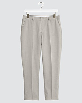 Grey Harry Regular Fit Suit Trousers