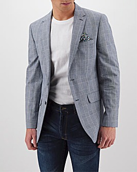 Navy Check Ralph Regular Blazer