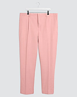 Rose Harry Pleated Front Regular Fit Suit Trousers