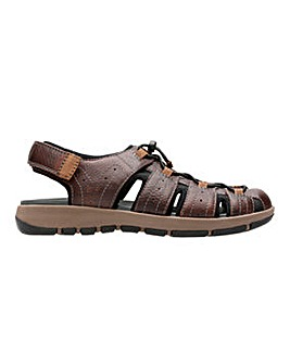 Clarks Brixby Cove Sandal Wide Fit
