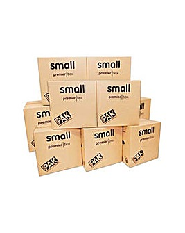 Small Cardboard Boxes - Set of 10