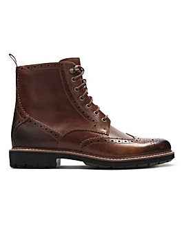 Clarks Batcombe Lord Boot Wide Fit