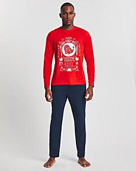 Christmas Turkey Long Sleeve PJ Set