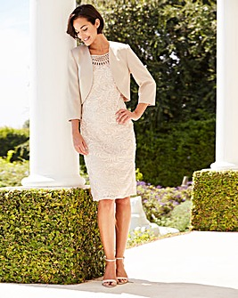 Joanna Hope Cornelli Dress and Jacket