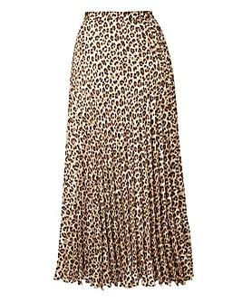 Joanna Hope Animal Print Maxi Skirt