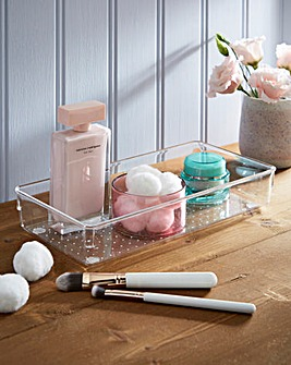 Large Bathroom Tray 2 Pack