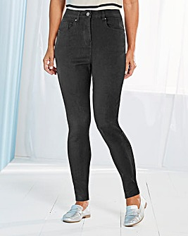 Lucy High Waisted Super Soft Skinny Jeans Regular Length