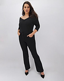 Kim High Waist Bootcut Jeans