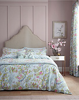 V&A Chinese Bluebird Duvet Cover Set