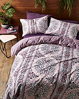 Aissa Printed Reversible Duvet Cover Set