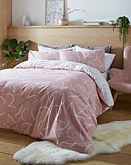 Capri Reversible Printed Duvet Set
