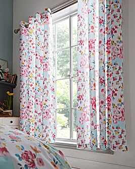 Flower Patchwork Curtains