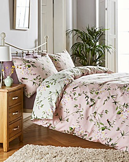 Hummingbird Reversible Duvet Set