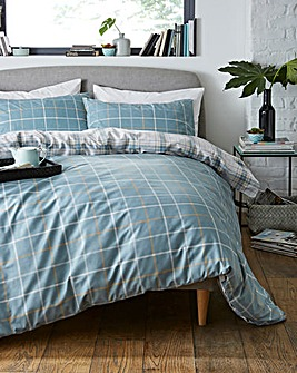 Skye Blue Duvet Set