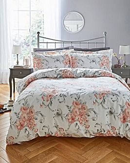 Amour 100% Cotton Printed Duvet Set