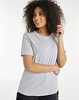Grey Marl Perfect Slim Fit T-Shirt