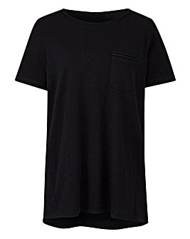 Perfect Scoop Slub Pocket Tee