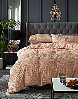 Nea Cotton Tufted Jacquard Duvet Set