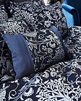 Oak Tree Midnight Blue Boudoir Cushion