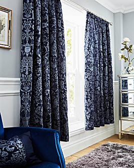 Oak Tree Pencil Pleat Curtains
