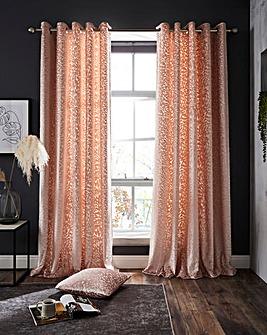 Vienna Burnout Velvet Curtains