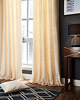 Vienna Burnout Velvet Curtains