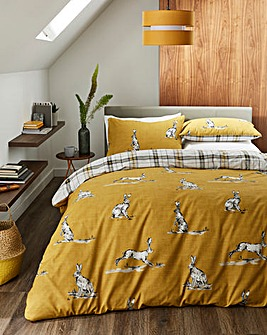 Fusion Hare Duvet Cover Set