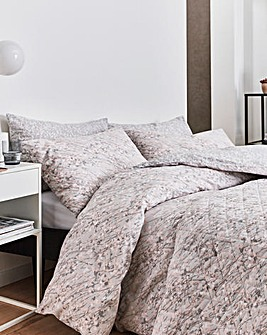 DKNY Bryant Park Blush Duvet Cover Set