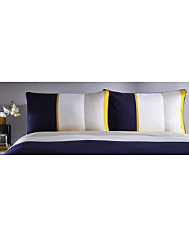 Karen Millen Cotton Block Pillowcases
