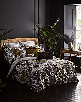 Emma J Shipley Amazon 200 Thread Count Cotton Reversible Duvet Cover