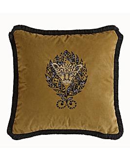 Emma J Shipley Amazon Square Cushion