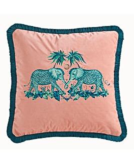 Emma J Shipley Zambezi Square Cushion