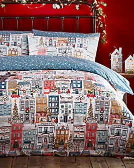 Christmas Town Duvet Cover Set