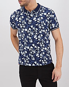 Short Sleeve Jersey Printed Polo