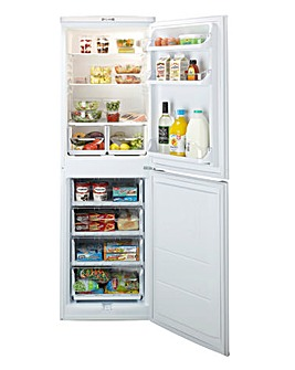 Indesit 55cm Fridge Freezer - White