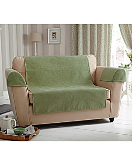 Plain Chenille Two Seater Cover