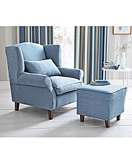 Country Wing Back Chair