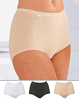 Sloggi 3 Pack Basic Maxi Briefs