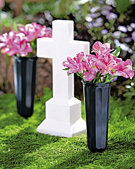 Memorial Vases Set of 2