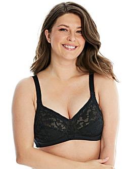 Triumph Delicate Doreen Non Wired Black Bra