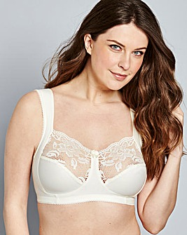 Miss Mary Lovely Lace Champagne Bra