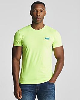 Superdry Orange Label Neon Lite T-Shirt