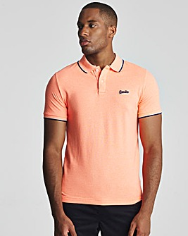Superdry Short Sleeve Poolside Pique Polo