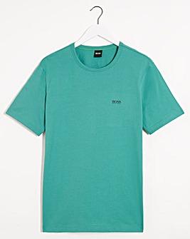 BOSS Turquoise Short Sleeve Classic Logo T-Shirt