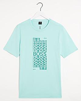 Boss SS Graphic Logo T-Shirt