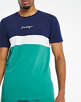 Hype Colour Block T-Shirt